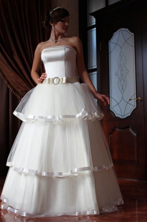 Самые пышные и красивые свадебные платья все