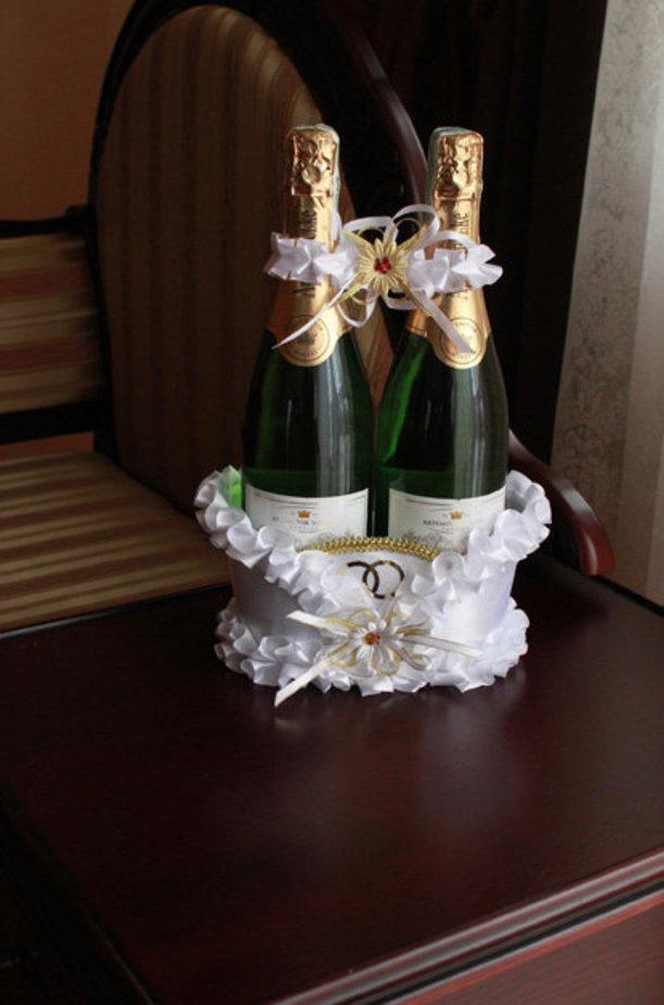 Без категории: Украшение шампанского