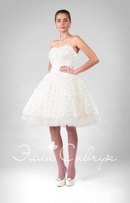 0bc4a9f8ab6 Короткие свадебные платья кружевные