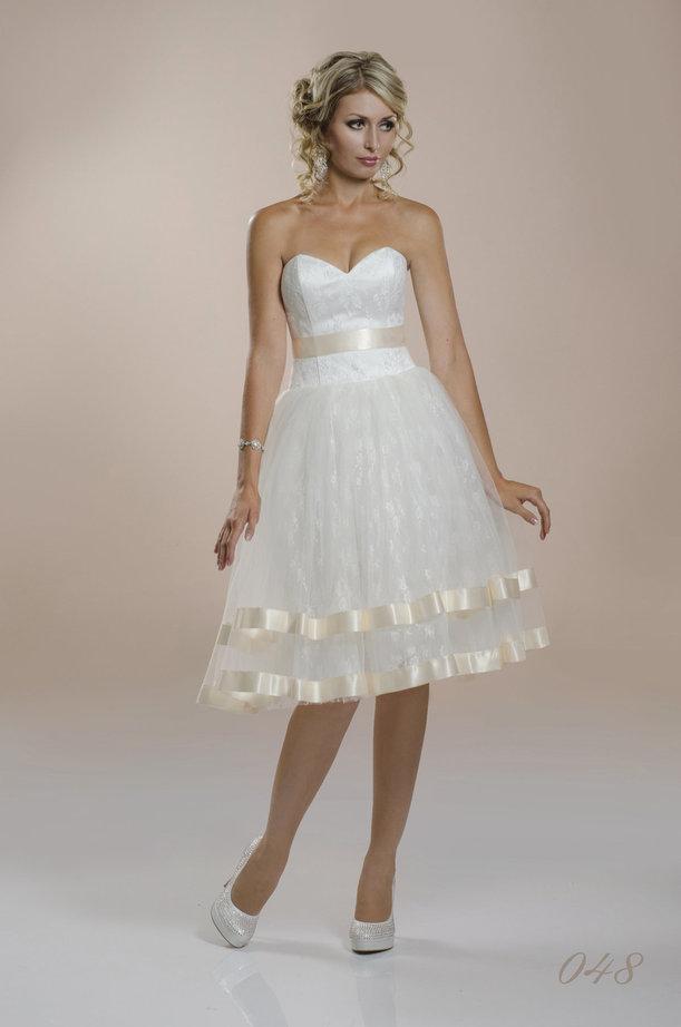 Короткие свадебные платья ростов