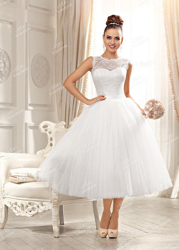 Пышные Короткие Свадебные Платья Купить