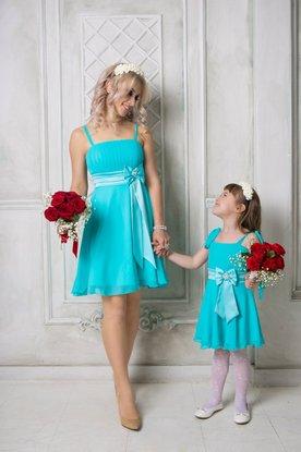 Купить Платья Одинаковые Себе И Дочке